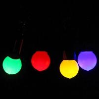 Гир-да светод 5м 50ламп LED ШАРреж м.цвет /100/