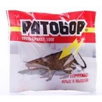 """Средство """"Ратобор"""" тесто-сырные брикет 100гр /50/"""