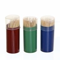 Зубочистки пластик.цв. упаковка 80шт/480/12/