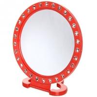 Зеркало настольное круг Бел выемки d=20см 147-4/15