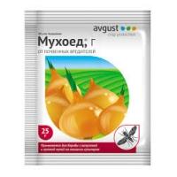 Средство от мух гранулы  МУХОЕД 25гр/200/