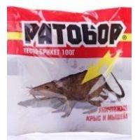 """Средство """"Ратобор"""" зерно от грызунов100гр./50"""