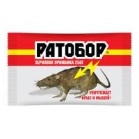 """Средство """"Ратобор"""" зерно от грызунов 250гр./30"""