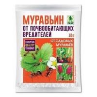Средство от муравьев Муравьин  10гр порошок /350/