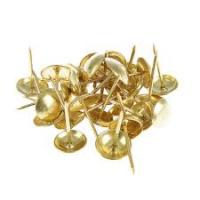 Гвоздь декоративный золото S-915 100шт/100/400/