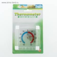 Термометр на липучке уличный (квадратный) ТББ/100/