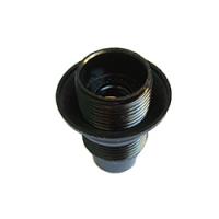 Патрон карболитовый Е14 с прижимным кольцом/50/200