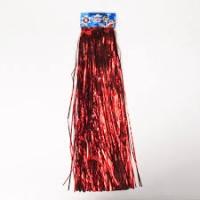 Дождик красный 1,2м YS15 цена за 10шт