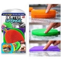 "Губка силикон универс 3шт набор ""Better Sponge"""