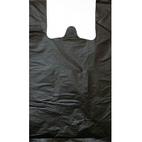 Пакет Майка 30+16х55 черная 20мкр 50шт/30/