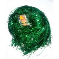 Дождик цвет зеленый галограм 1м YS1 цена за10шт