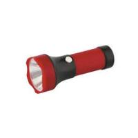 Фонарь Ultra flash4002-ТНкрасн 1LЕD1реж 3ХR03бл/25