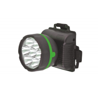 Фонарь Ultra flash 909LED7BL налобн черн 1реж 3*R6
