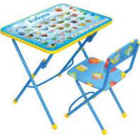 Комплект Умничка  АЗБУКА (стол+мяг.стул)