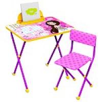 """Комплект """"Познайка""""Маленькая принцесса (стол+стул)"""