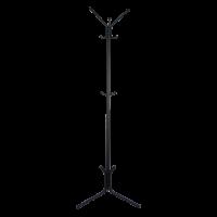 Вешалка напольная ЛУЧ-3 630х1770мм(черный)